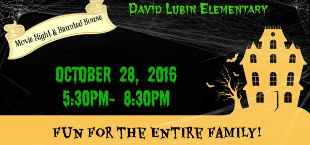 David Lubin Annual Movie Night & Haunted House Friday, October […]