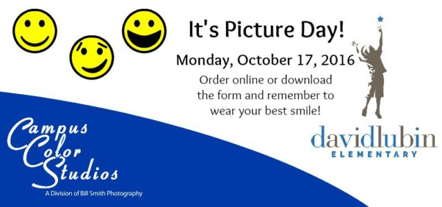 Picture day is Monday, October 17, 2016! We are excited […]